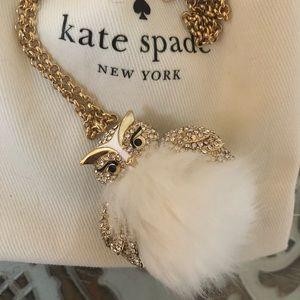 Kate Spade Snowy Owl Necklace